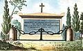Arnaud - Recueil de tombeaux des quatre cimetières de Paris - Londres (colored).jpg