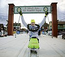 Aron Anderson after completing Vasaloppet