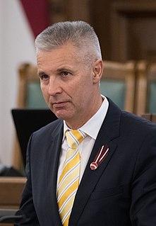 Latvian politician