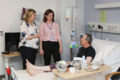 As we celebrate 70 years of the NHS, SofS Karen Bradley was delighted to visit Belfast City Hospital's Regional Cancer Centre to meet its inspiring staff and patients (42518451064).png