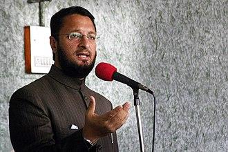 All India Majlis-e-Ittehadul Muslimeen - Asaduddin Owaisi