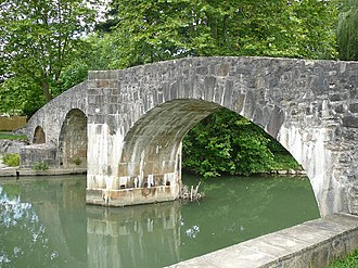 Ascain - The Roman bridge
