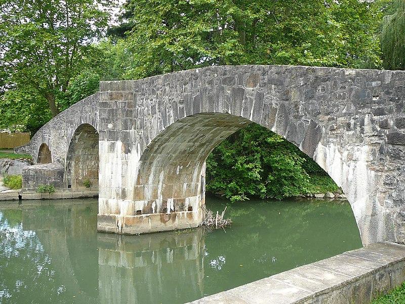 Roman bridge in Ascain.