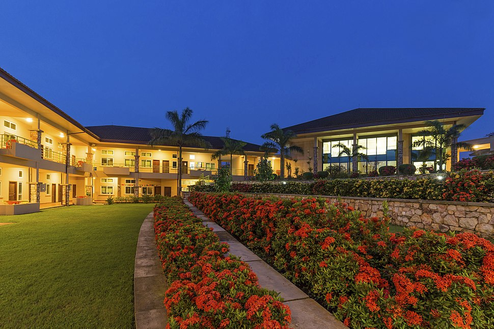 Ashesi's Archer Cornfield Courtyard