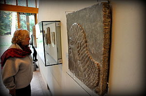 Burrell Collection - Assyrian Royal Attendant from Nimrud, Mesopotamia