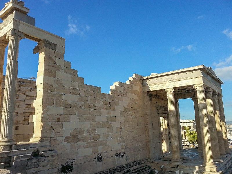Soubor:Athen, Akropolis, Erechtheion Nordosten 2015-09.jpg