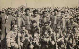 Club Atlético Atlanta - Atlanta team of 1956 that won the Primera B title.