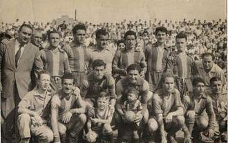 Club Atlético Atlanta - Atlanta team of 1956 that won the Primera B title.