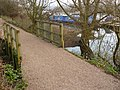 Attenborough Nature Reserve Path by the river over a footbridge - geograph.org.uk - 1099552.jpg
