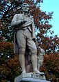 Au-Vic-Ballarat Burns statue close-up.JPG
