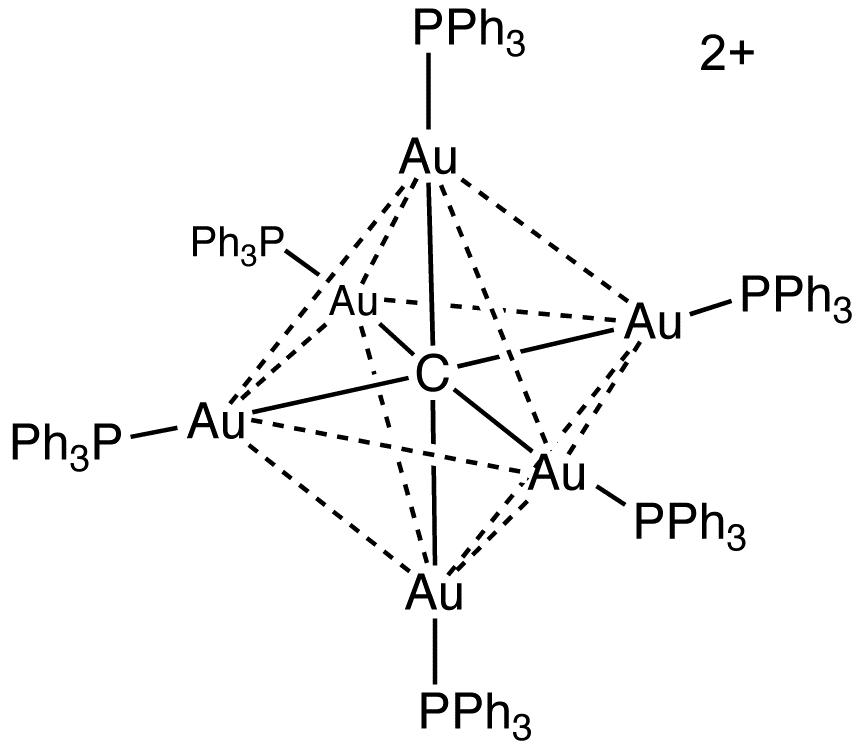 Au6C(PPh3)6