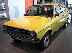 Audi 50 - Audi 50 in the Audi Forum, Ingolstadt