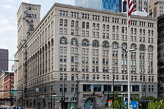 Auditorium Building (Chicago) - Image: Auditorium Building Chicago June 30, 2012 92