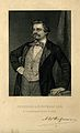 August William Hofmann. Stipple engraving by Cook. Wellcome V0002829.jpg