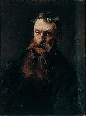 Auguste Rodin - Auguste Rodin, John Singer Sargent, 1884