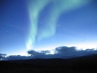 Abisko National Park - Image: Aurora near Abisko, Sweden, 2