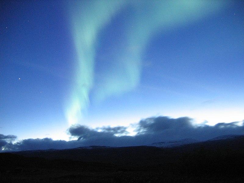 File: Aurora near Abisko, Sweden, 2.jpg