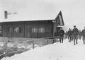 Aussenansicht der Soldatenstube von Bassecourt - CH-BAR - 3241055.tif