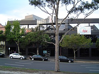 Fox FM (Melbourne) - Image: Austereo Building Melb