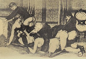The Autobiography of a Flea - Charming depiction of a drawing room gangbang from the book
