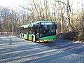 Autobus Solari Urbino 12 (IV) linii 184 na przystanku końcowym Nowe Zoo w Poznaniu - grudzień 2020 - 1.jpg