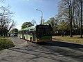Autobus Solaris Urbino 18 MPK Poznań linii 158 na ulicy Głuszyna w Poznaniu - kwiecień 2020.jpg