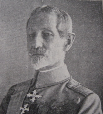 Flămânda Offensive - General Alexandru Averescu, commander of the Romanian forces