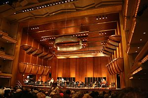 David Geffen Hall - The interior of David Geffen Hall (2007)