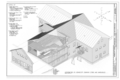 Axonometric of Kennecott Company Store and Warehouse - Kennecott Copper Corporation, Company Store and Warehouse, On Copper River and Northwestern Railroad, Kennicott, HAER AK-1-H (sheet 13 of 14).png