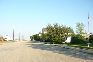 Aylesbury, Saskatchewan - Main Street