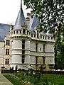 Azay-le-Rideaux Château d'Azay-le-Rideau Nordseite 5.jpg