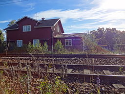 Bälgvikens stationshus.