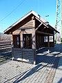 Börzsöny forest railway, shelter, 2020 Szob.jpg