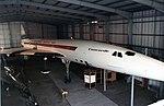 BAC-Aerospatiale Concorde BAC-Aerospatiale Concorde 2 G-BSST Fleet Air Air Museum Yeovilton 1984 (16959955539).jpg