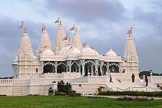 BAPS Shri Swaminarayan Mandir Houston - Image: BAPS Houston Mandir