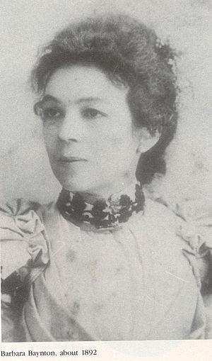 Barbara Baynton - Barbara Baynton, about 1892