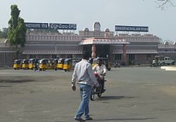 Bhadrachalam Road railway station (BDCR)