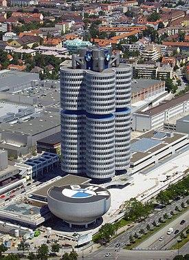 Мюнхендегі BMW бас пәтері.