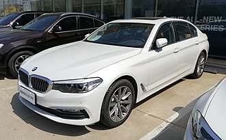 BMW Brilliance - Image: BMW 5 Series G38 Li 02 China 2018 03 20