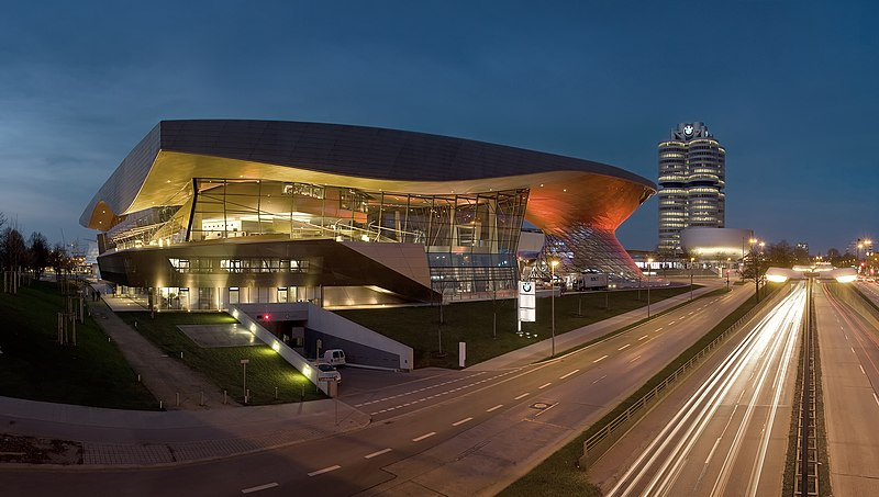 File:BMW Welt Night.jpg
