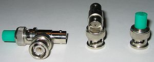 BNC connector - BNC Tee Connectors with resistive load terminators