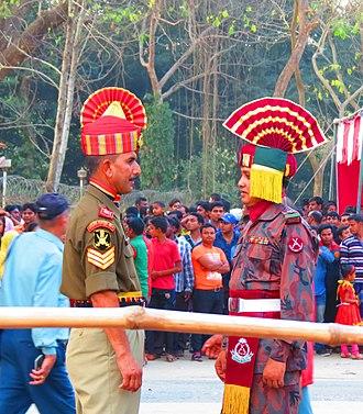 Border Guards Bangladesh - BSF and BGB