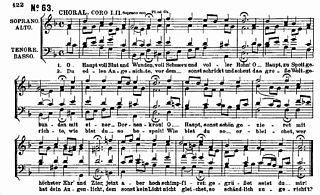 Chorale German Protestant church hymn, and several musical forms (e.g. organ chorale, four-part chorale) derived from it