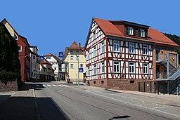 Kirchstraße in Bad Liebenzell