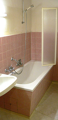 Shower on walk in shower bathroom designs