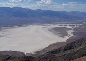 Badwater Basin - Image: Badwater Basin from Dante's View Overlook