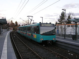 Frankfurt U-Bahn subterranean rapid transit
