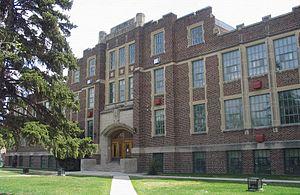 Balfour Collegiate - Image: Balfour Collegiate May 09