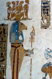 Banebdjedet ancient Egyptian deity