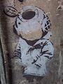 Banksy Little Diver Melbourne.jpg